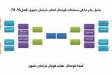 آغاز اولین دوره جام حذفی فوتسال استان